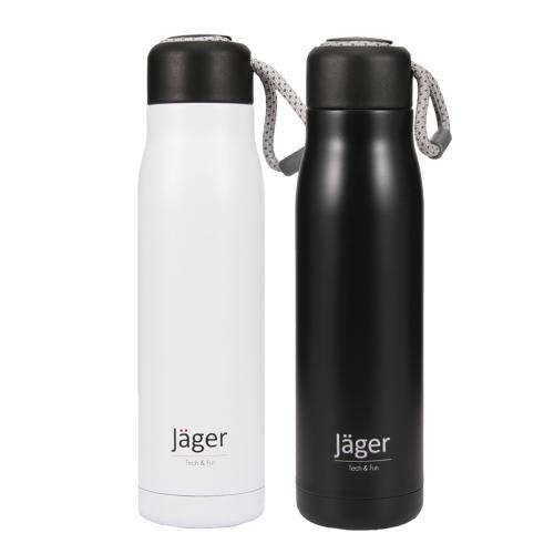 Jäger YOGA - בקבוק נסיעות מעוצב הכולל פקק עם שרוך