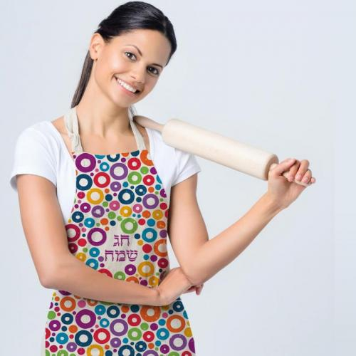 סינר מטבח צבעוני בשלל דוגמאות חמודות