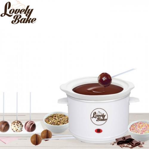 מכשיר חשמלי משודרג להכנת פונדו שוקולד וציפויי עוגות - כולל למעלה מ15 אביזרים