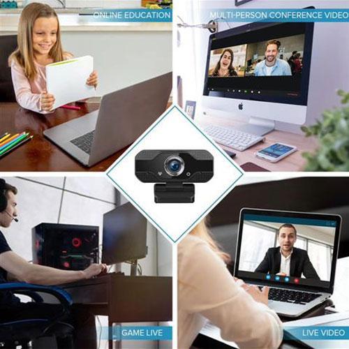 מצלמת רשת דיגיטלית ברזולוציה גבוהה ומסנן רעשי רקע בעלת חישן צבעים COMS
