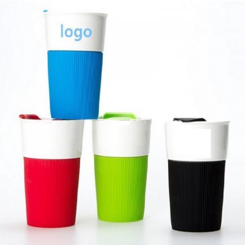 TOGO כוס טרמית מדליקה עם חבק לשתייה חמה וקרה