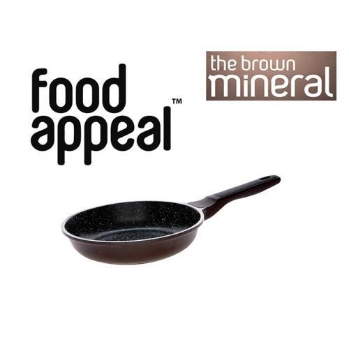מחבת 24 בישול טבעי באבן שיש מסדרת מינראל פוד-אפיל