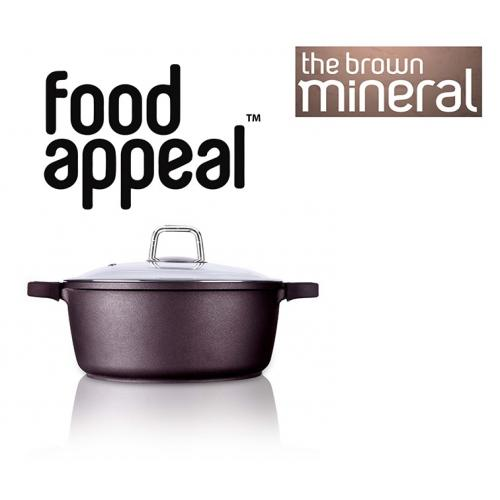 סיר 36 בישול טבעי באבן שיש מסדרת מינראל פוד-אפיל
