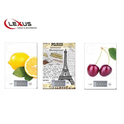 משקל דיגיטלי למטבח LEXUS