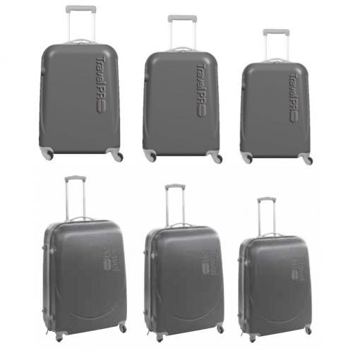 סט מזוודות טרולי קשיחות המותג TravelPro
