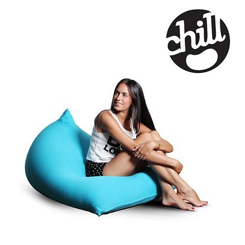 פוף ישיבה מלייקרה בצורת שפיץ Chill