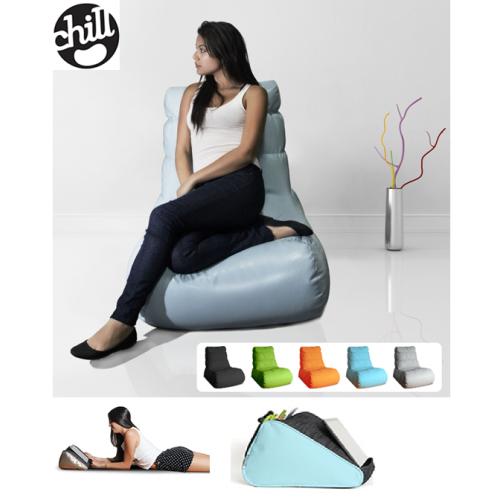 כורסת פוף מעוצבת מדגם אווניו + כרית טאבלט– מבית chill