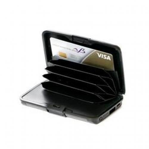 ארנקון פלסטיק לכרטיסי אשראי משולב ב סוללת הטענה  POWER BANK 2600MAH