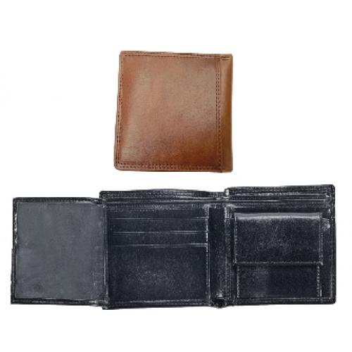 ארנק קלאסי לכרטיסי אשראי ושטרות כסף. עור איטלקי