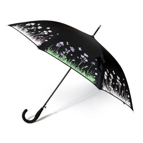 """מטריה  """"23  ידית סבא משנה צבע במגע עם המים"""