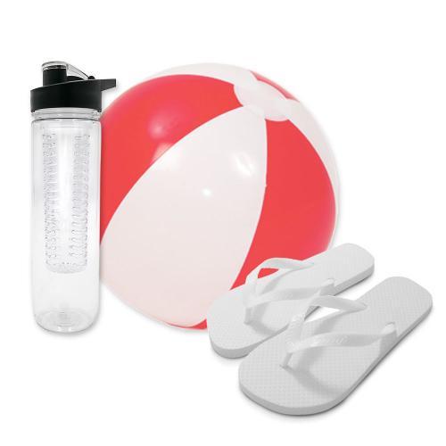 כדור-ים, כפכפים ובקבוק שתיה איכותי ליום בים - מבצע!