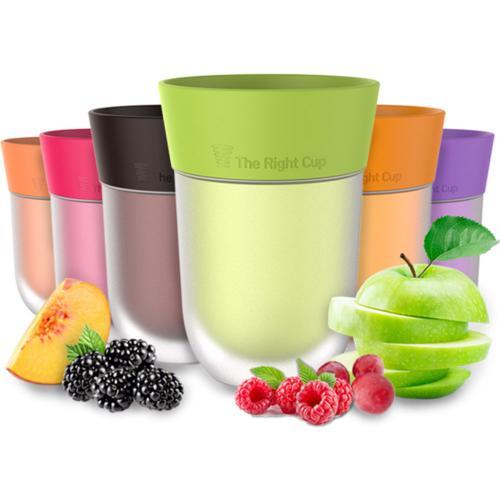 כוס בריאותית - שותים מי ברז רגילים ומרגישים כאילו שותים מים בטעמים!