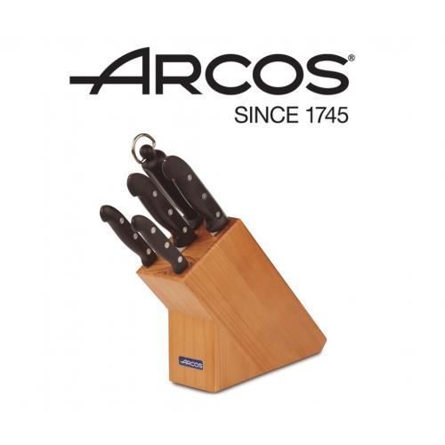 סט 5 חלקים + בלוק עץ ארקוס