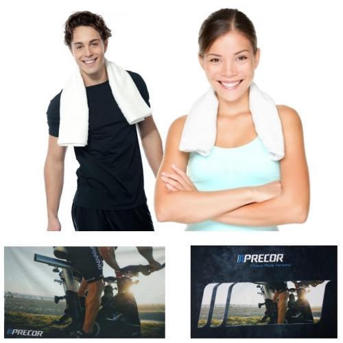 מגבות ספורט מיקרופייבר עם הדפסה