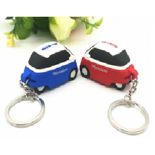 מחזיק מפתחות בצורת מכונית