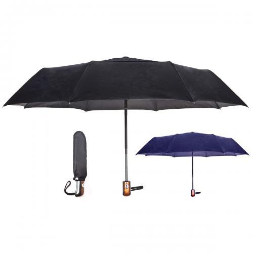 מטריה אוטומטית מתקפלת ל-3 חלקים