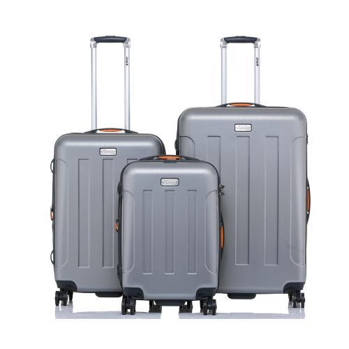 סט 3 מזוודות קשיחות מסדרת MIAMI של JEEP