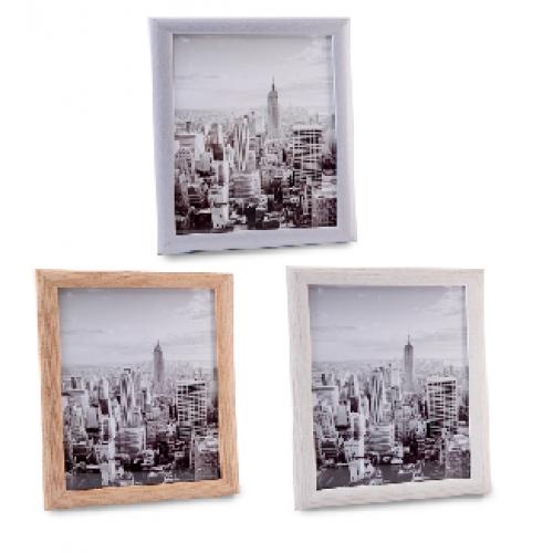 מסגרת לתמונה מעץ וזכוכית מתאימה לתמונה ותעודות
