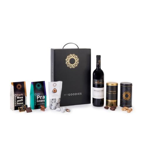 """מארז נפטון הכולל ין אדום, קברנה סובניון, רזרב סינגל ויין, יקב """"ברקן"""""""