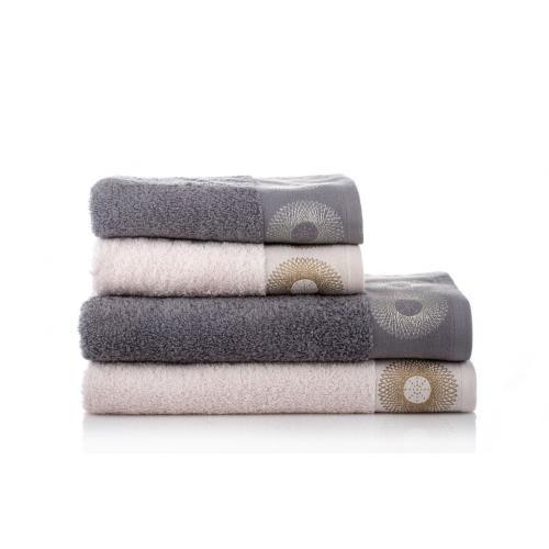 מגבת רחצה ז'קרד 70/130 ספייס כותנה במגוון צבעים מכותנה מבית ורדינון