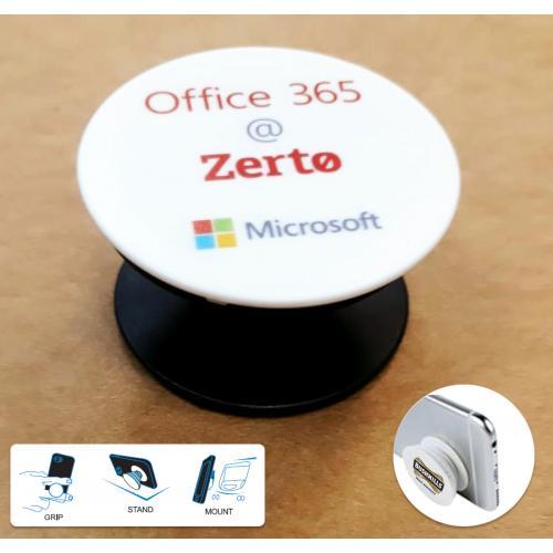 פופ-סוקט - POP SOCKET - ממותג לטלפון הסלולרי