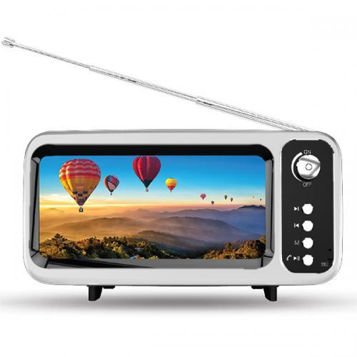 רמקול BT איכותי בצורת טלוויזיה