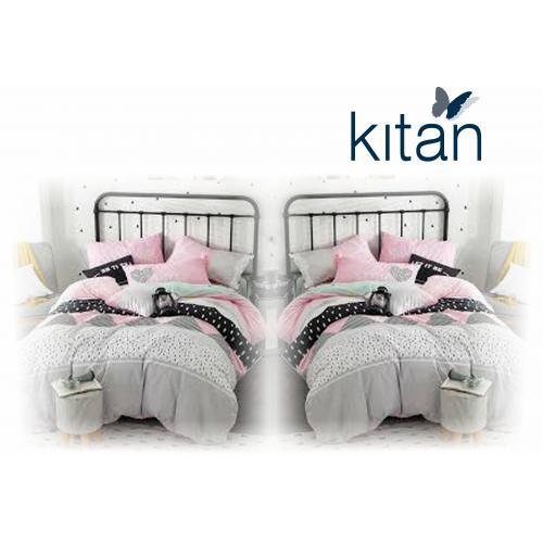 2 סטים של מצעים למיטת יחיד 100% כותנה מבית כיתן