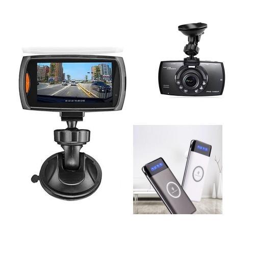 קליפ קאר - מצלמה לרכב בשילוב מטען נייד עוצמתי