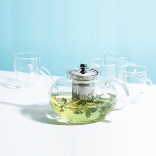 מארז קנקן תה + 4 כוסות TOOLS