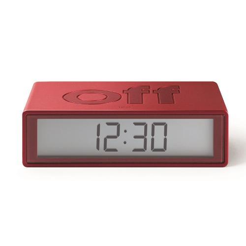 שעוןFLIPאדום מטאל LR130MR