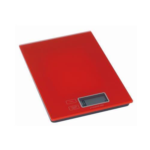 """משקל מטבח אלקטרוני אדום עד 5 ק""""ג"""