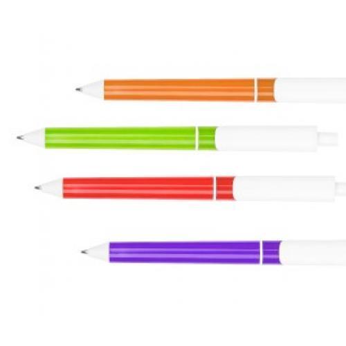 עט גוף צבעוני עם מילוי ג'ל ראש שוויצרי