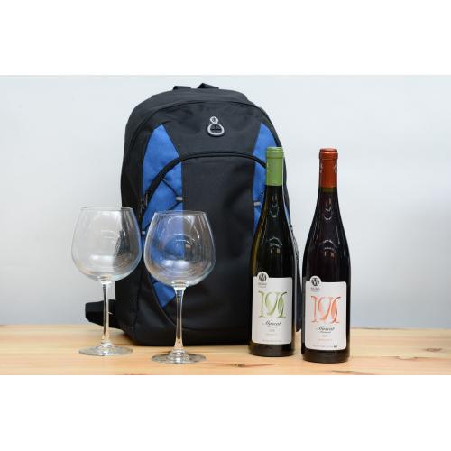 מארז תיק יינות וכוסות לחג