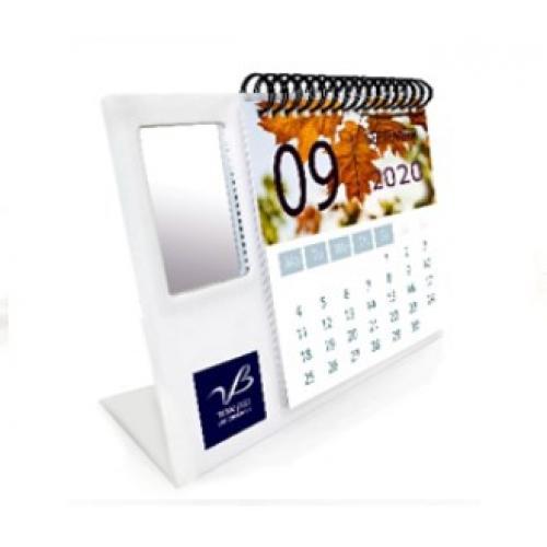 לוח שנה+מראה מלבנית