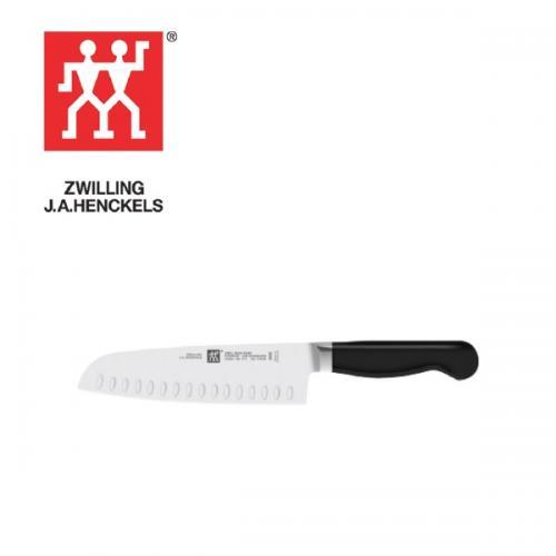 """סכין סנטוקו """" 7  ZWILLING PURE"""