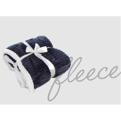 שמיכה דו שכבתית מפנקת שכבה עליונה שמיכת פלנל פליז קטיפתית מעוצבת שכבה תחתונה צמר לבן כבשים.