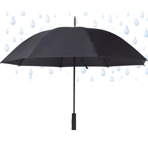 """מטריה איכותית , ידית ישרה 27"""" זרועות סיליקון גמישות"""