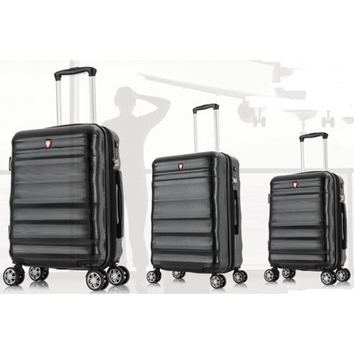 """סט 3 מזוודות 20"""", 24"""", 28"""" בעיצוב קלאסי"""