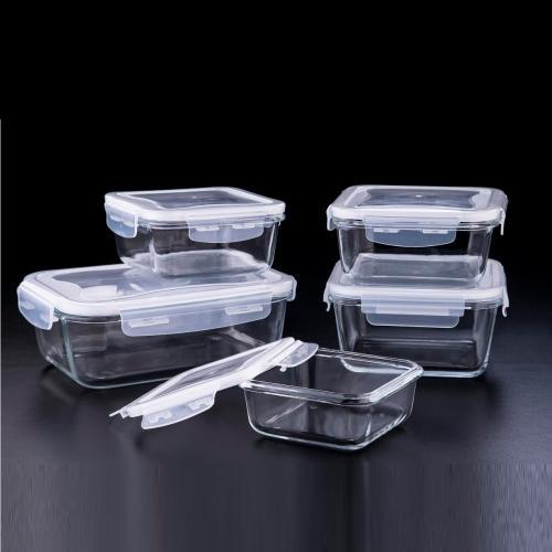 מארז  10 חלקים 5 קופסאות אוכל בגדלים שונים SOLTAM