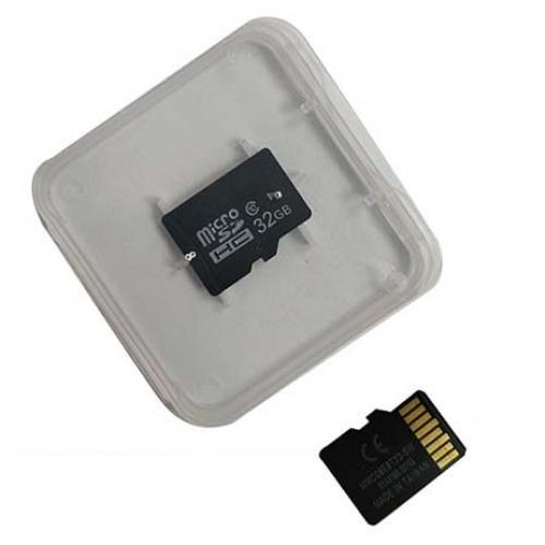 כרטיס זיכרון למצלמה 32GB בקופסת פלאטיק