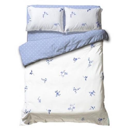 מצעי כותנה באיכות גבוהה למיטה זוגית כותנה 100% ורדינון