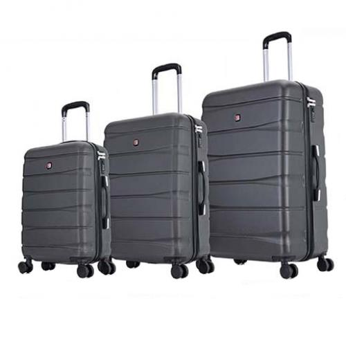 סט 3 מזוודות קשיחות של המותג  SWISS