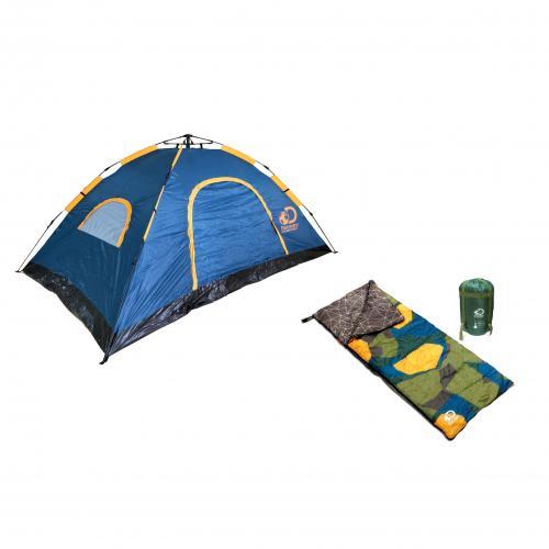 מארז שטח אוהל ושק שינה DISCOVERY