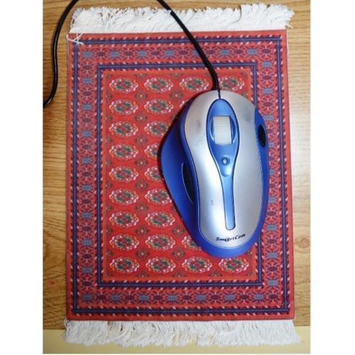 פד לעכבר מחשב בעיצוב שטיח פרסי יוקרתי