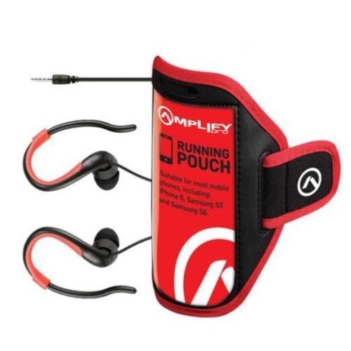 חבילת ספורט - אוזניות ונרתיק ריצה