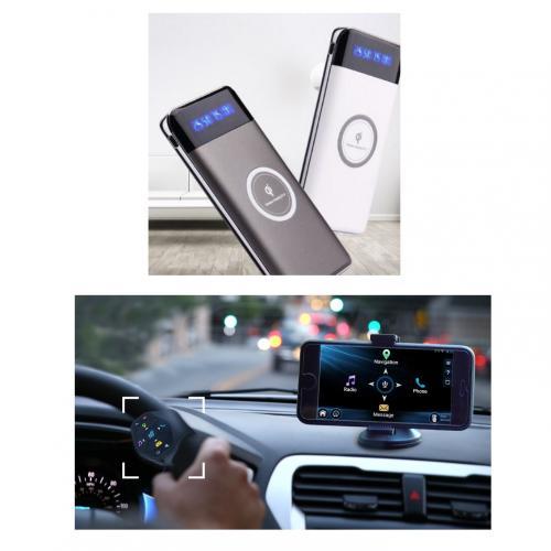 מארז נייד מערכת חדשנית לשליטה בטלפון בעת נהיגה ומטען נייד אלחוטי 10,000MPH