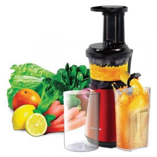 מסחטת פירות וירקות למבטח בריא  Philips אדום/שחור