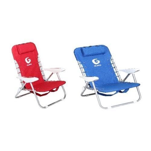 כיסא פלדה כחול + כיסא פלדה אדום