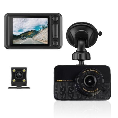 סט מצלמות לרכב הכולל מצלמה קדמית ומצלמה אחורית לרכב