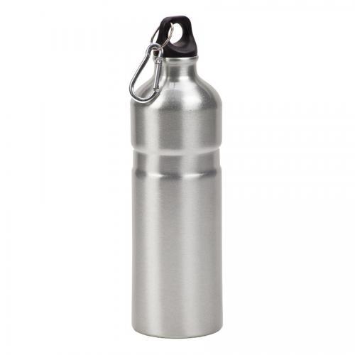 """בקבוק שאקל אלומיניום 750 מ""""ל כסף"""